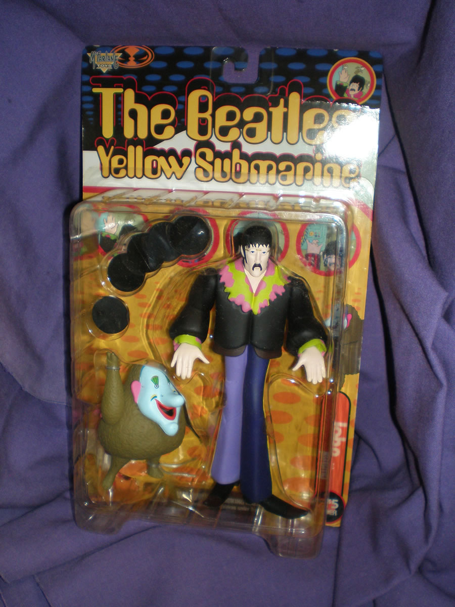 THE BEATLES YELLOW SUBMARINE JOHN WITH JEREMY, 5.0 VG/FN