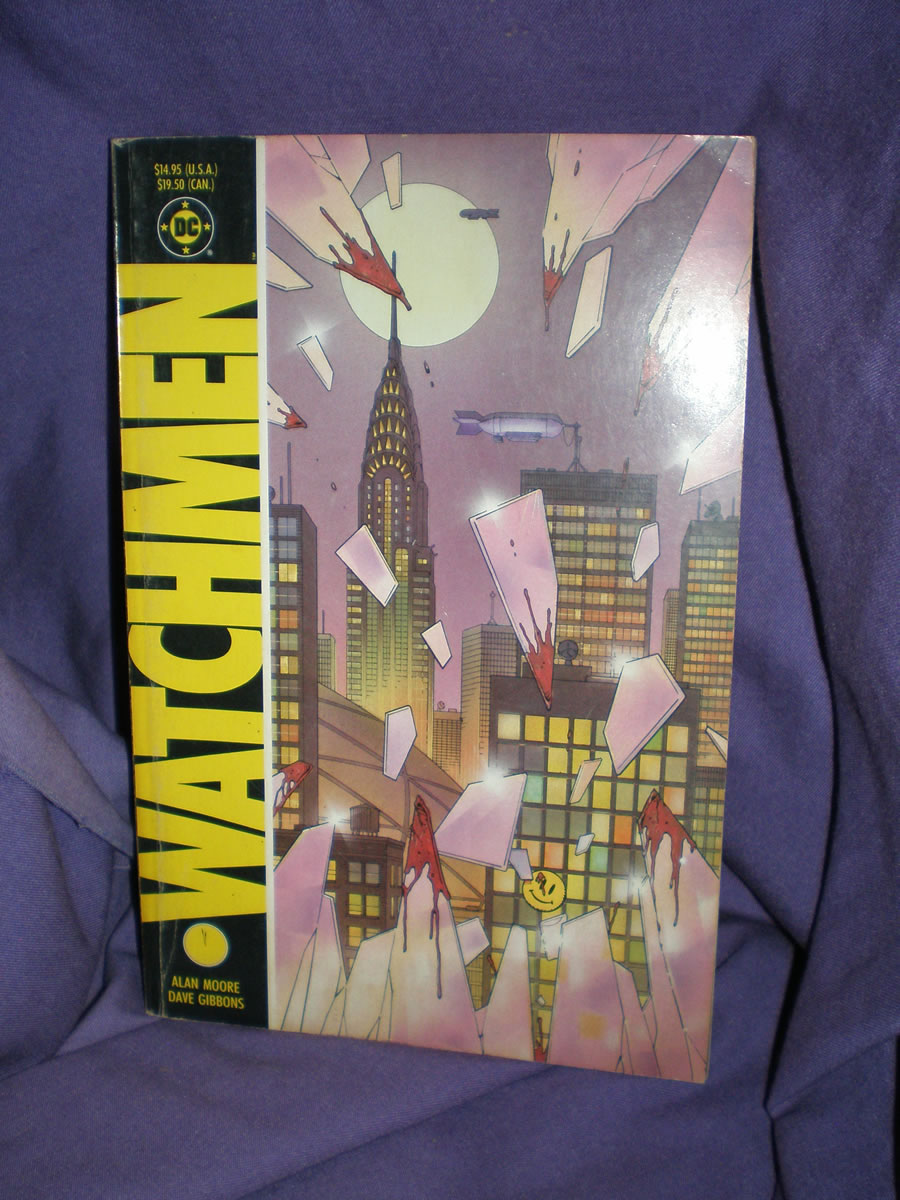 1987 1ST EDITION PRINT WATCHMEN GRAPHIC NOVEL # 1987, 4.0 VG