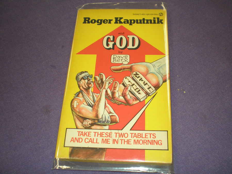 ROGER KAPUTNIK AND GOD BY DAVE BERG # 1975, 8.0 VF