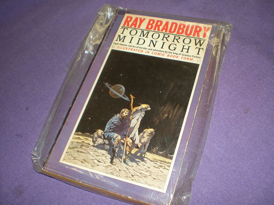 RAY BRADBURY TOMORROW MIDNIGHT # 1966, 5.0 VG/FN