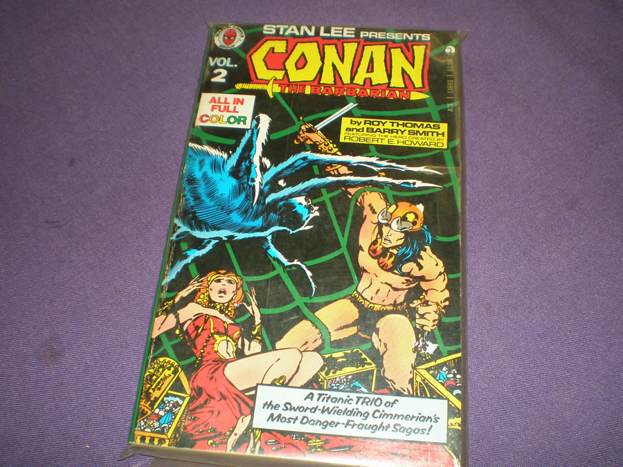 STAN LEE PRESENTS CONAN THE BARBARIAN VOL.2 # 1971, 5.5 FN -