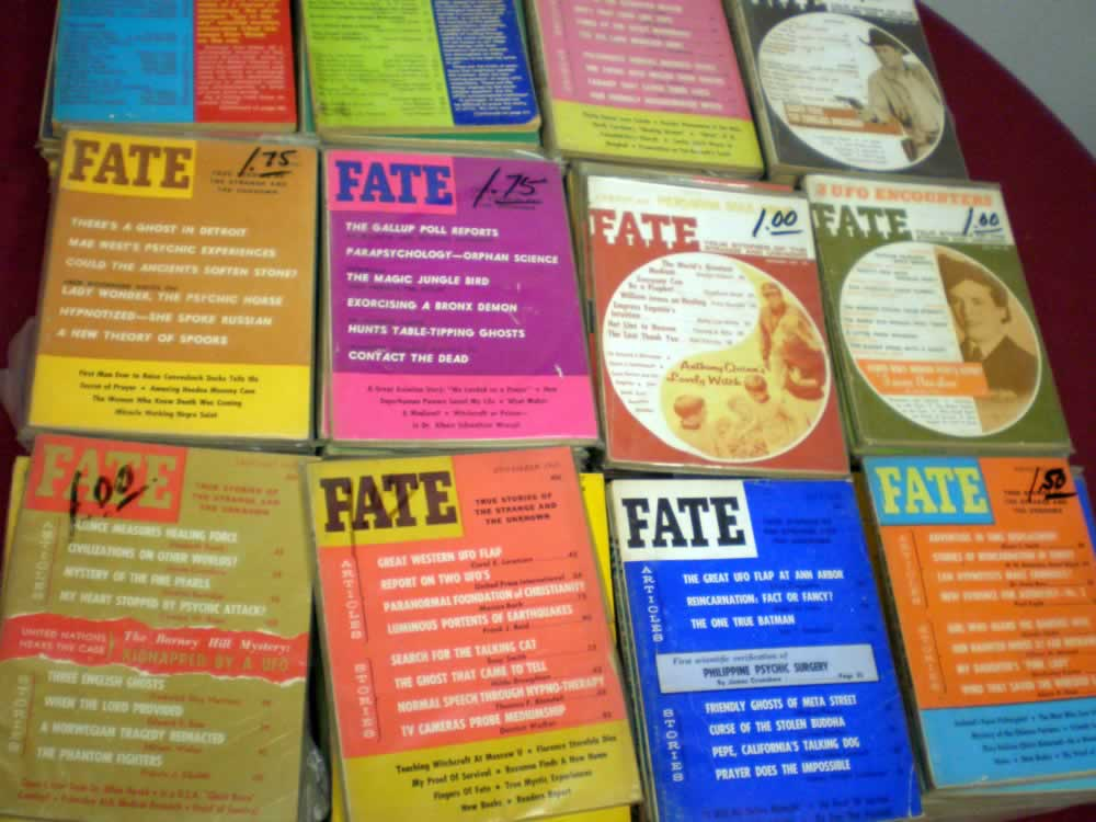 VINTAGE FATE PAPERBACK LOT OF 20 # 20; 2.0 GD