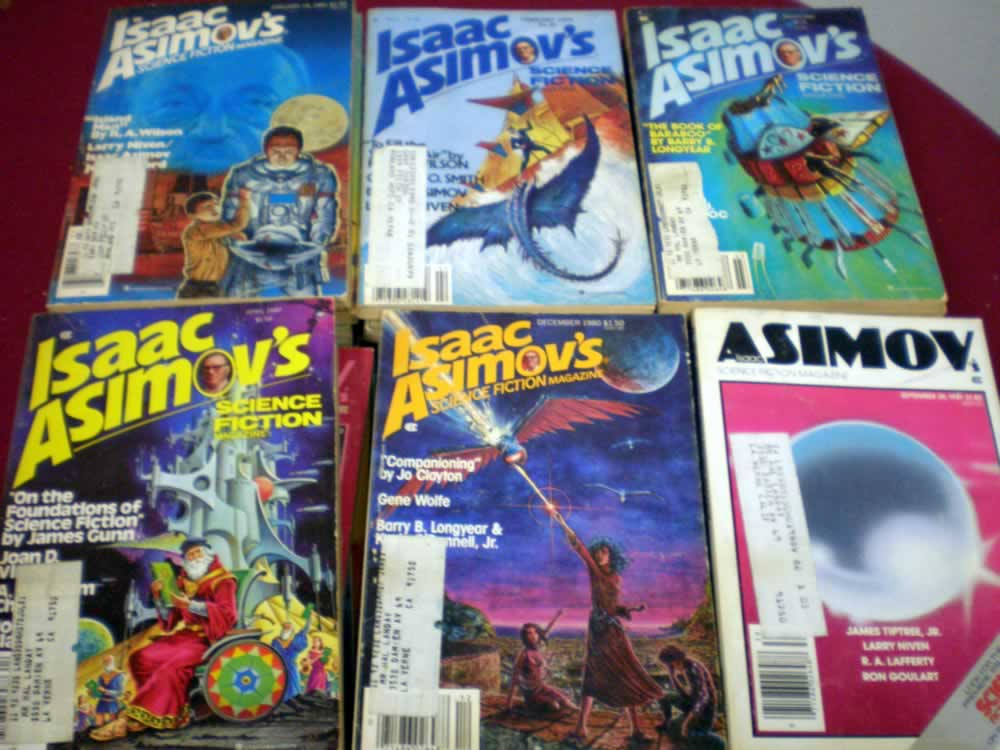 VINTAGE ISAAC ASIMOVS PAPERBACK LOT OF 20 # 20; 2.0 GD
