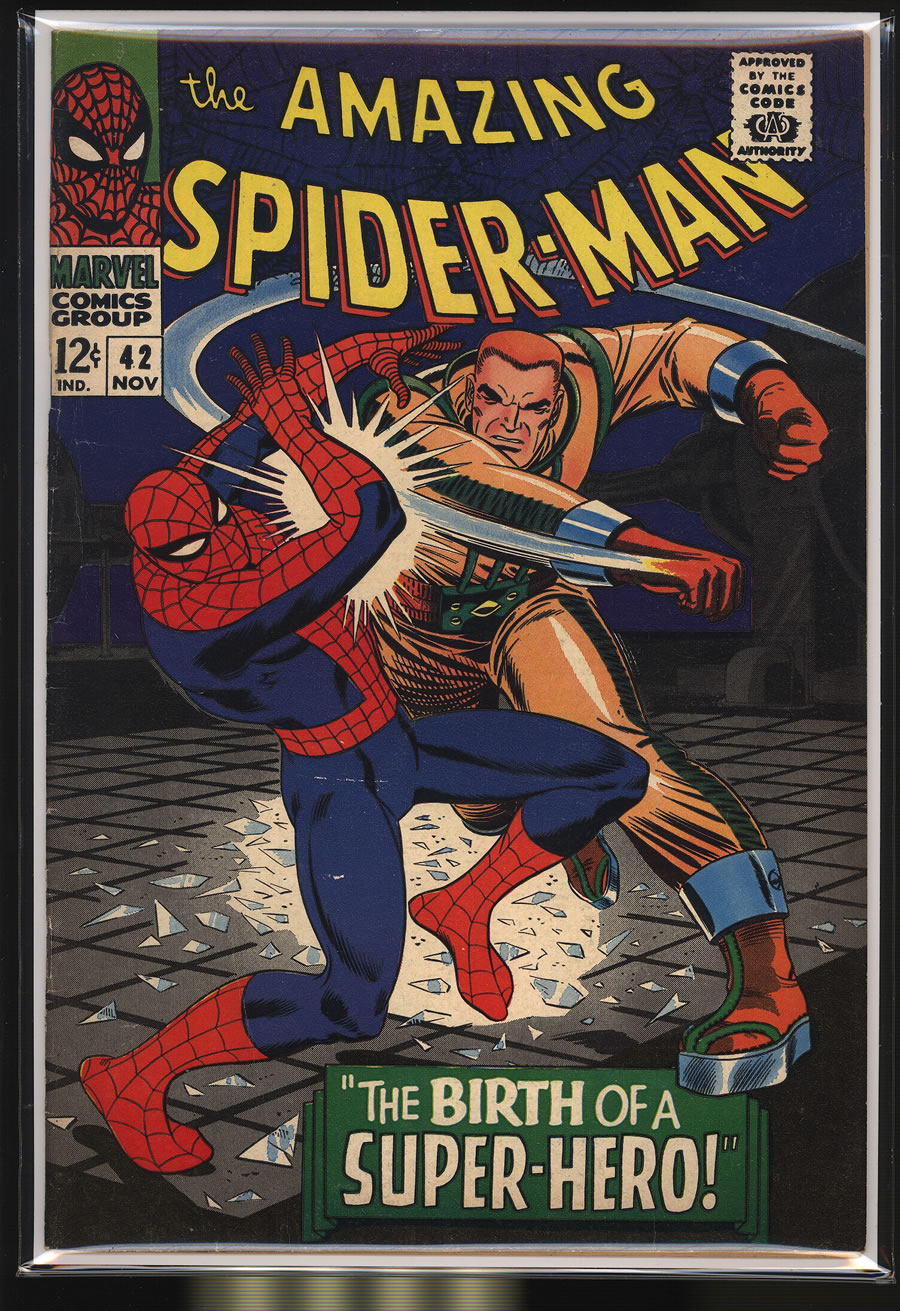 AMAZING SPIDER-MAN # 42, 4.5 VG +