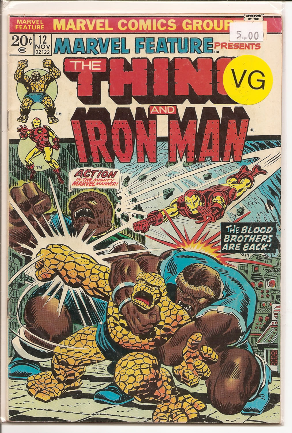 Marvel Feature # 12, 4.0 VG