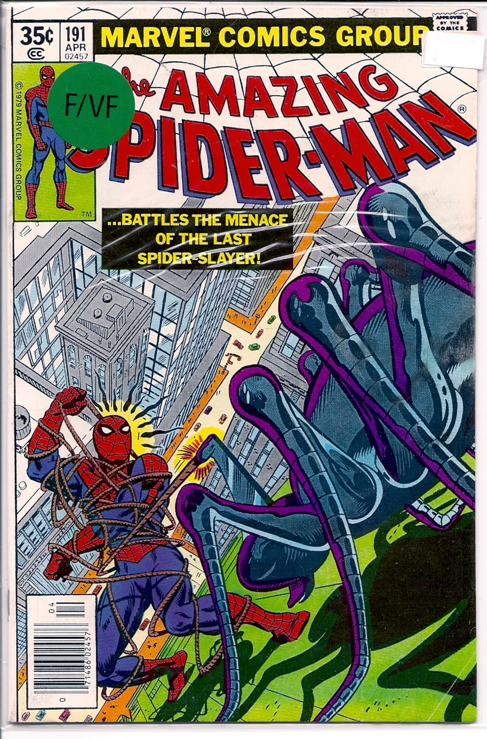 Amazing Spider-Man # 191, 7.0 FN/VF