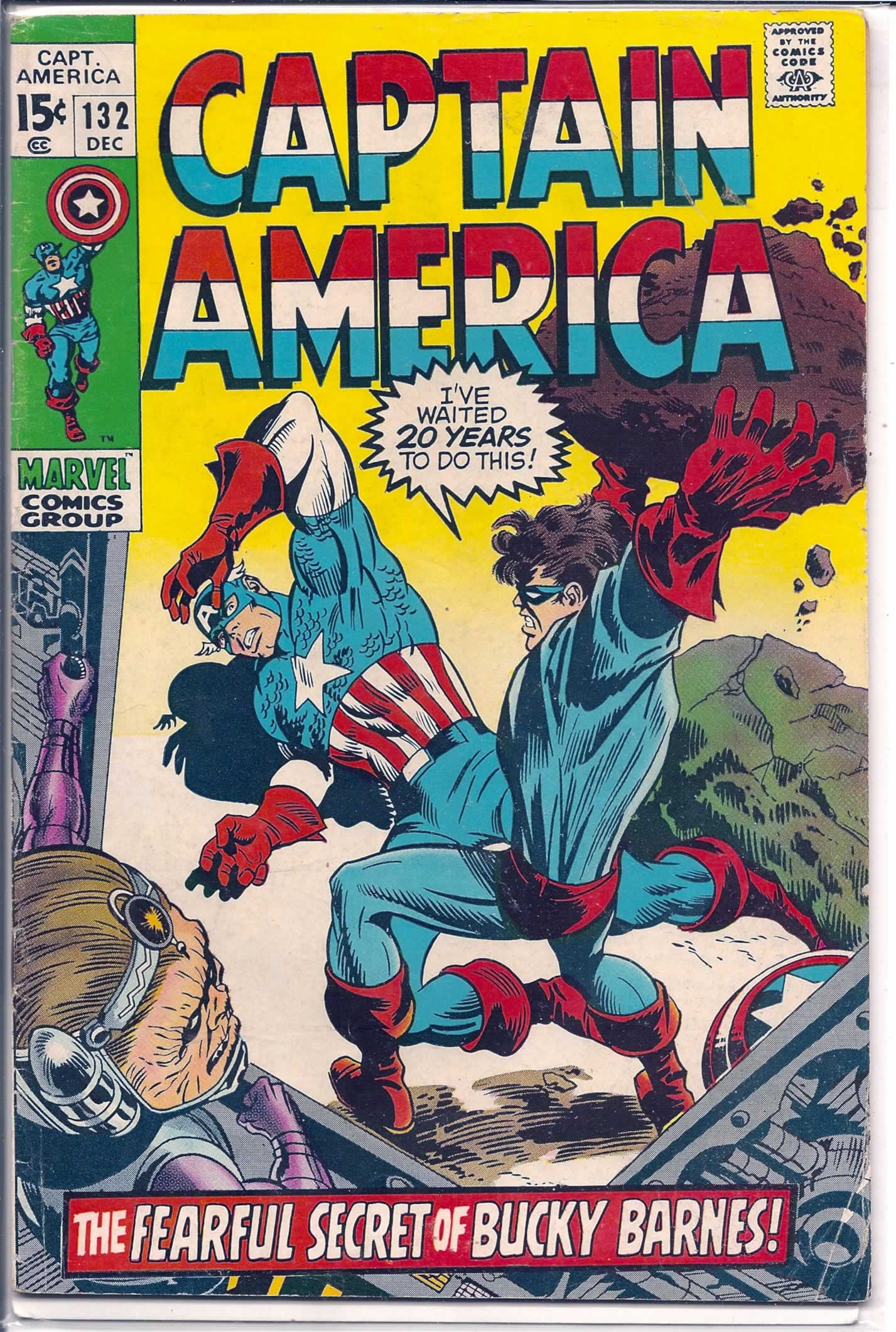 CAPTAIN AMERICA # 132, 3.0 GD/VG
