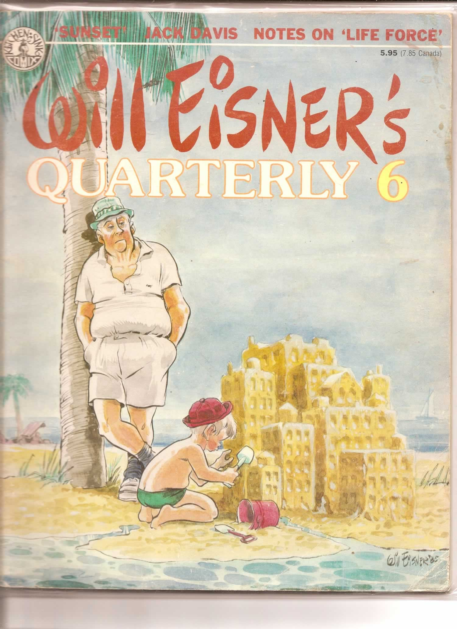 WILL EISNER'S QUARTERLY 6 # 1; 4.0 VG