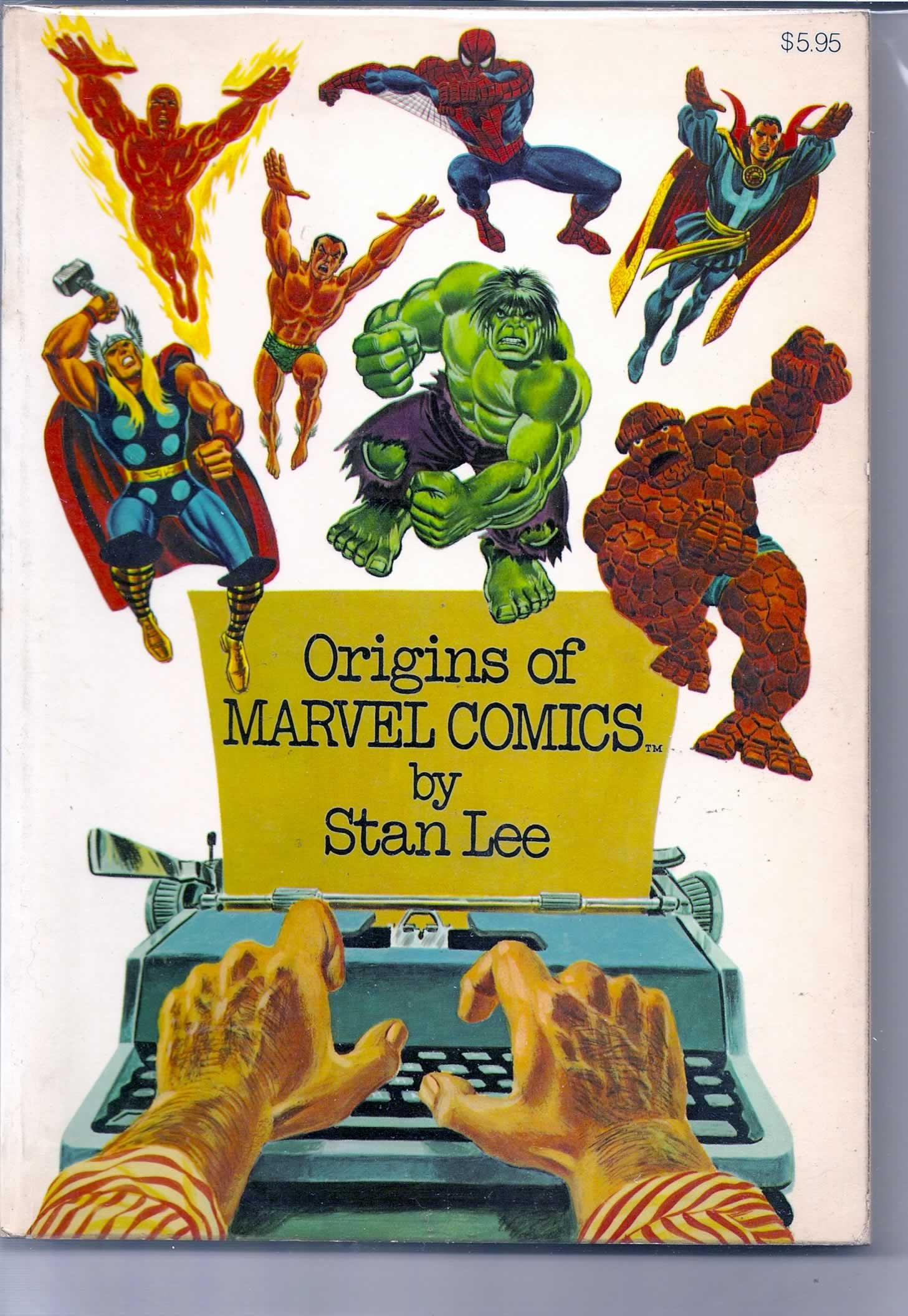 ORIGINS MARVEL COMICS # 1; 5.5 FN -