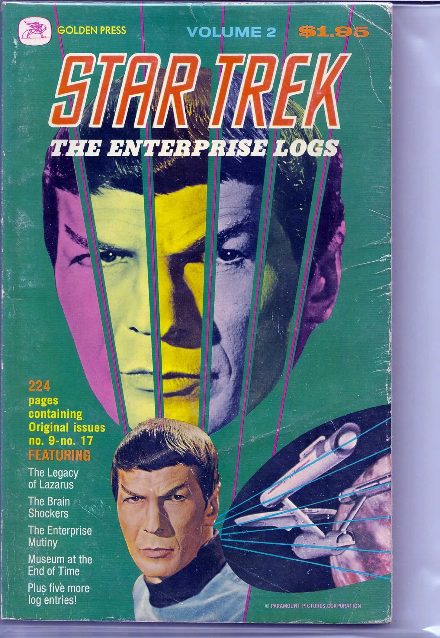 STAR TREK ENTERPRISES LOGS # 1; 3.0 GD/VG